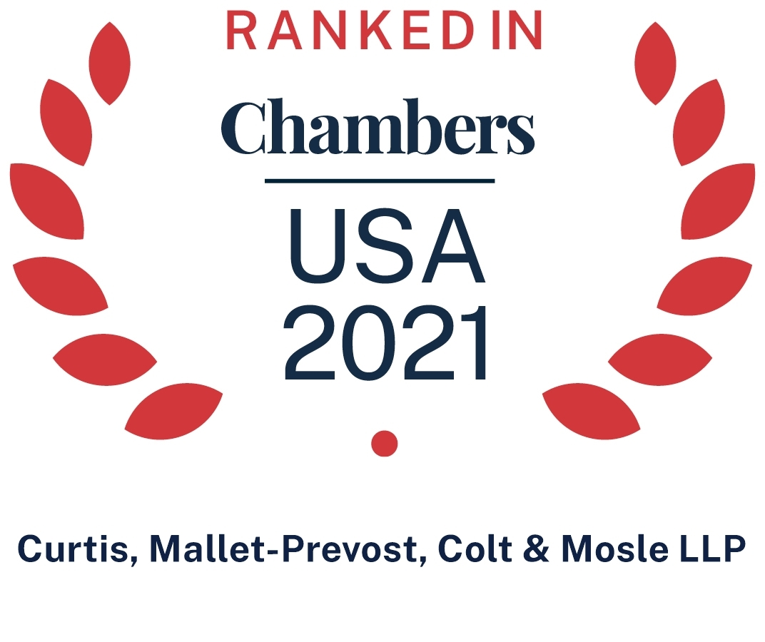 2021 Chambers USA Recommended Firm