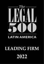 2022 Legal 500 Latin America Leading Firm