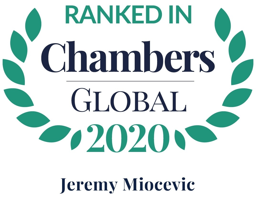 Chambers 2020 Global Rosette Jeremy Miocevic