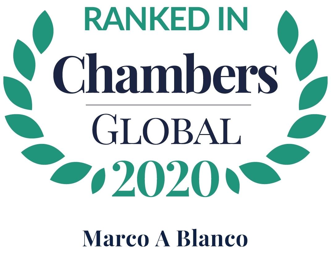 Chambers 2020 Global Rosette Marco Blanco