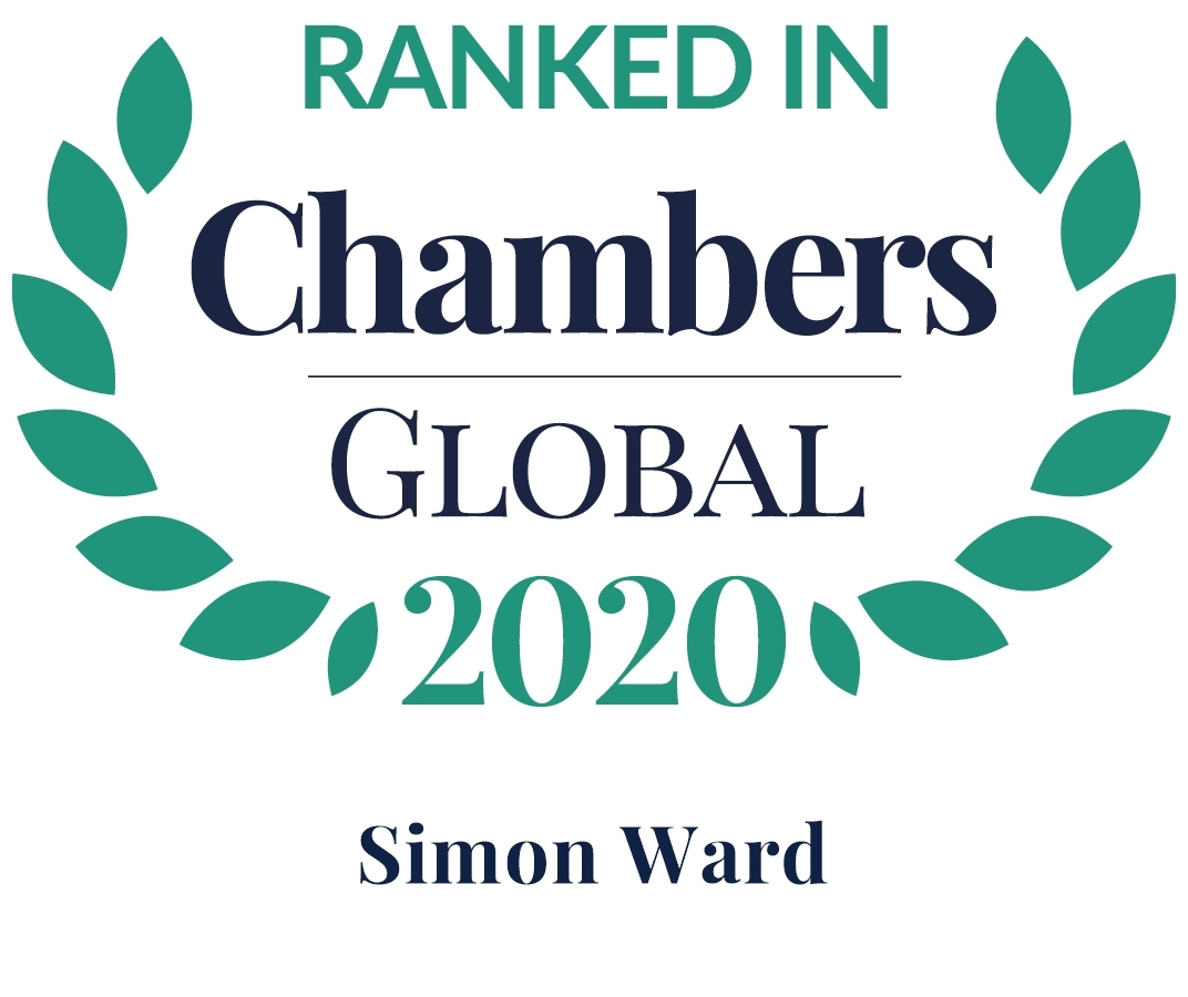 Chambers 2020 Global Rosette Simon Ward