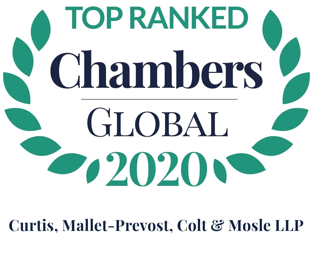 Chambers Global 2020 Firm Logo