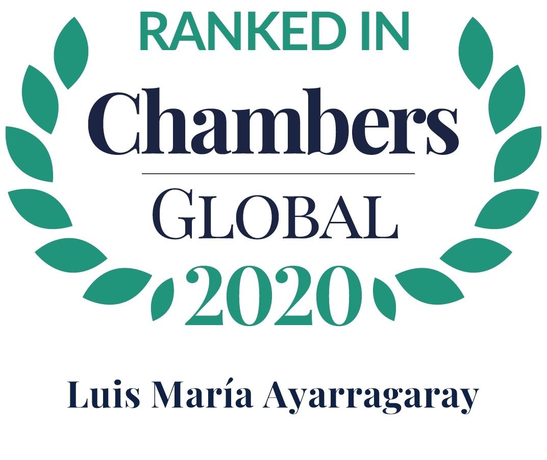 Chambers Global 2020 Luis Ayarragaray