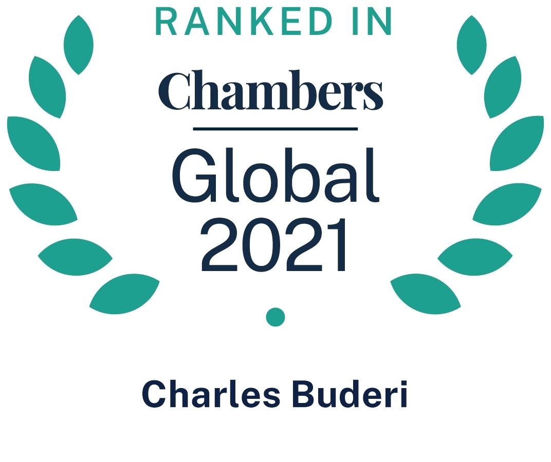 Chambers Global 2021 Charles Buderi
