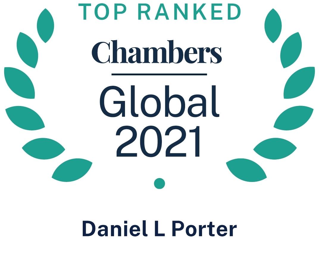 Chambers Global 2021 Daniel Porter