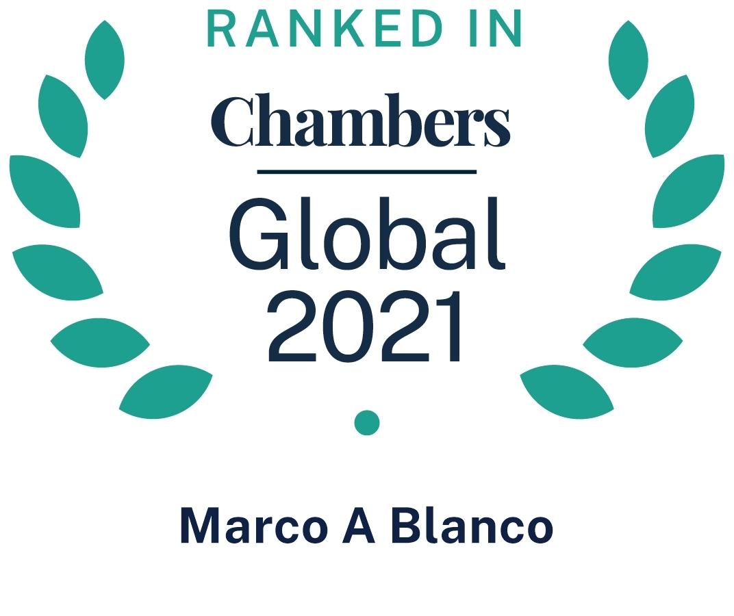 Chambers Global 2021 Marco Blanco
