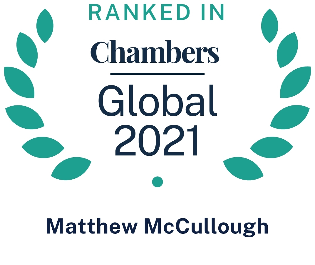 Chambers Global 2021 Matthew Mc Cullough