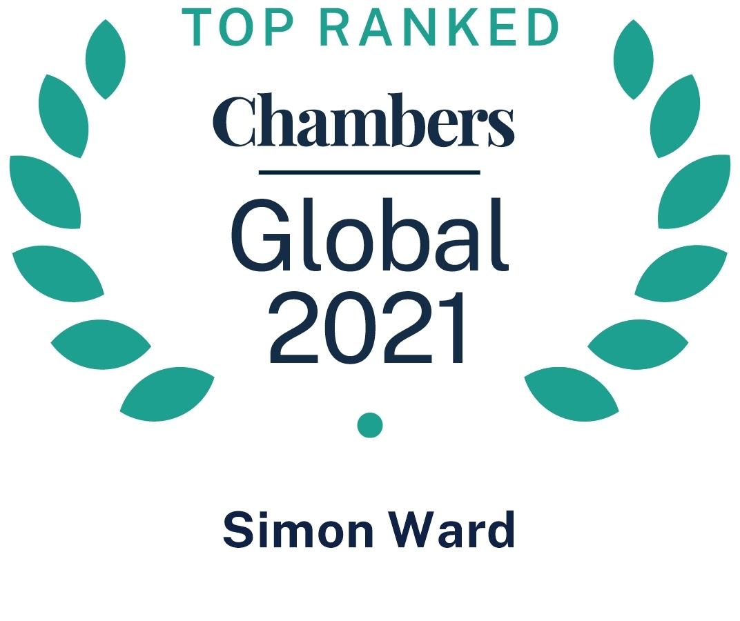 Chambers Global 2021 Simon Ward