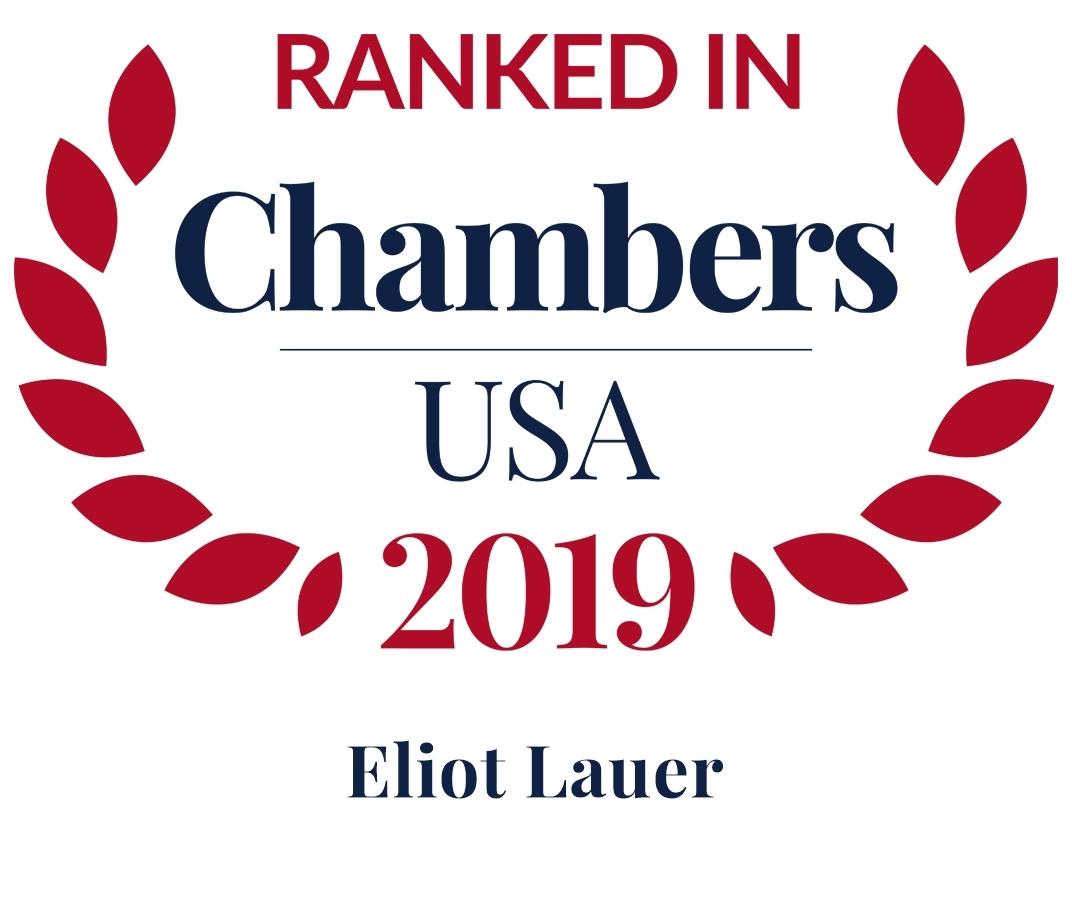 Chambers USA 2019 Eliot Lauer