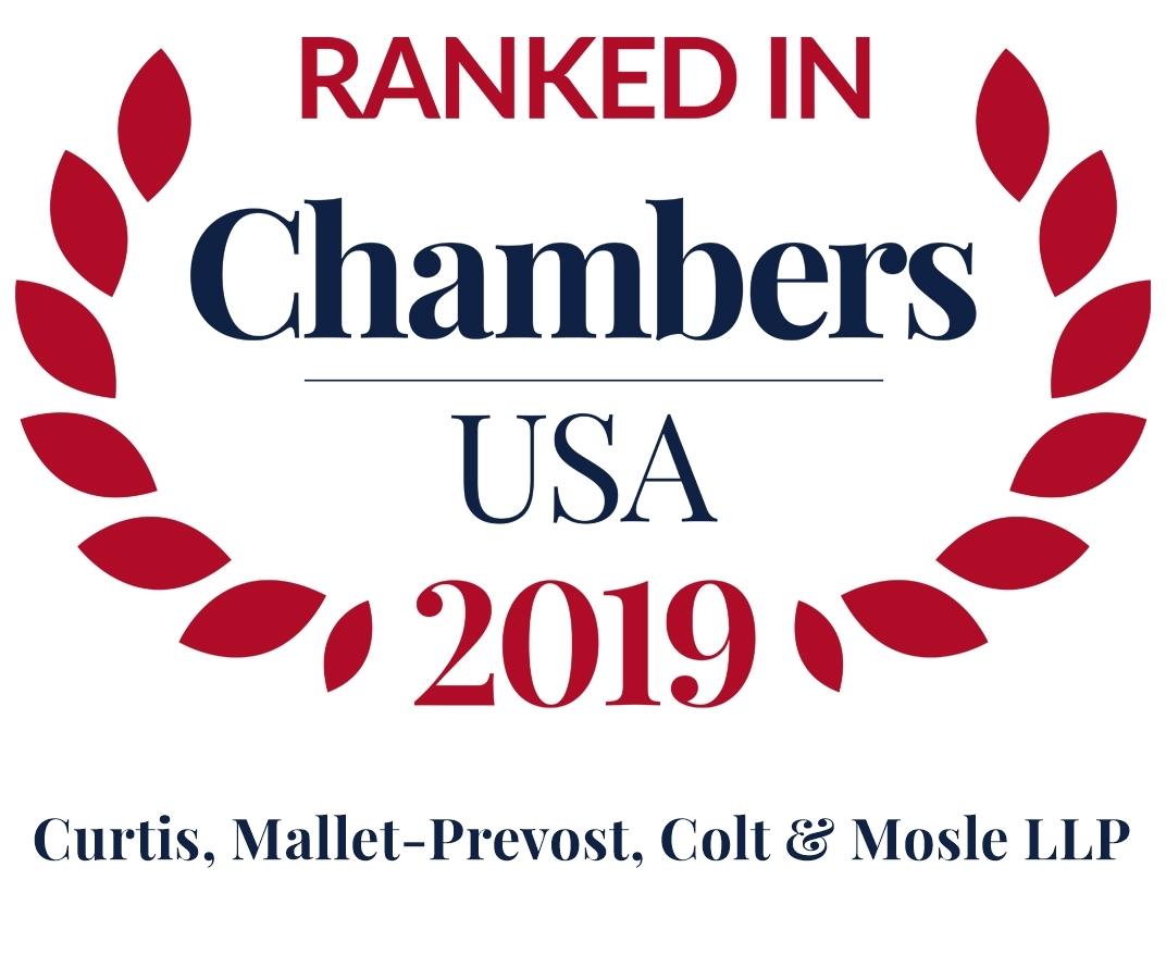 Chambers USA 2019 Firm