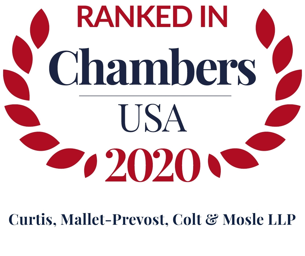 Chambers USA 2020 Firm Logo