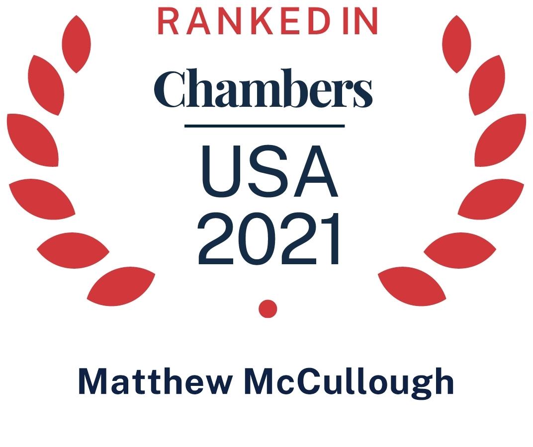 Chambers USA Matthew Mc Culough