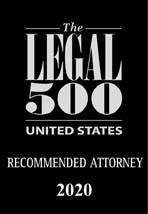 Legal 500 USA Leading Attorney 2020 1