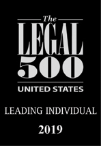 Legal 500 USA 2019 Leading Individual