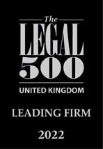 Legal 500 uk leading firm 2022