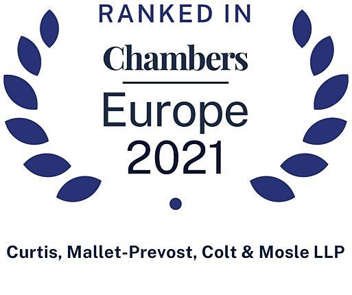 2021 Chambers Europe Firm