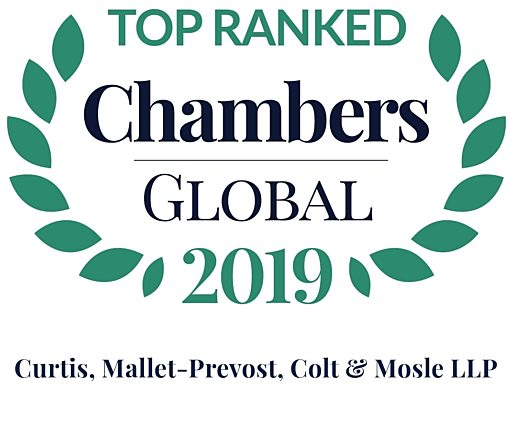 Chambers Global 2019 firm