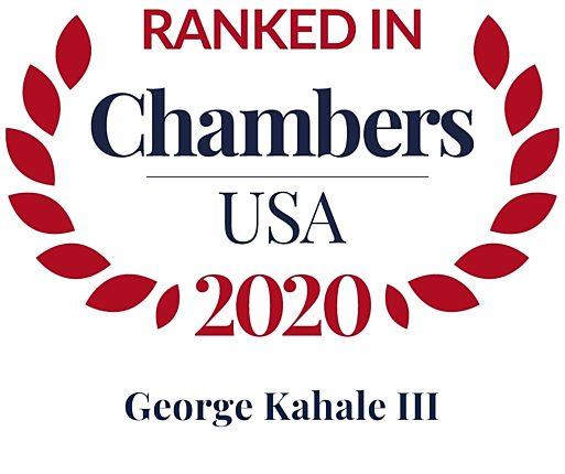 Chambers 2020 USA Rosette George Kahale