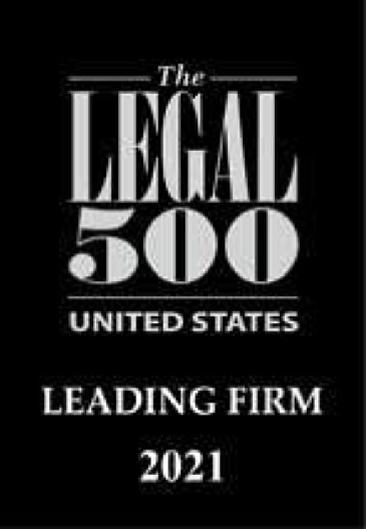 2021 Legal 500 USA Leading Firm