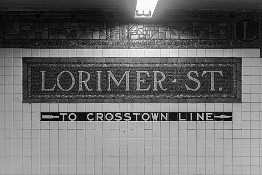 Lorimer Street BW