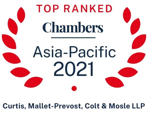 2021 Chambers Asia Pacific Firm Wide