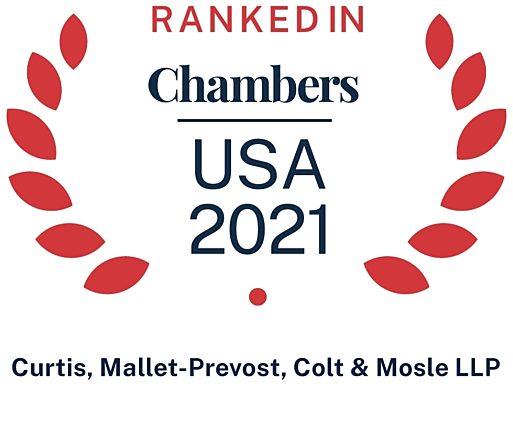 2021 Chambers USA Firm Logo