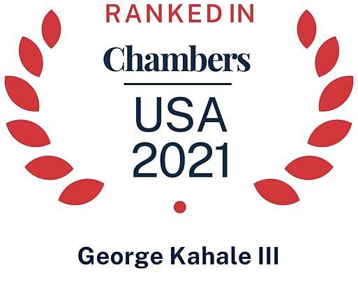 2021 Chambers USA George Kahale