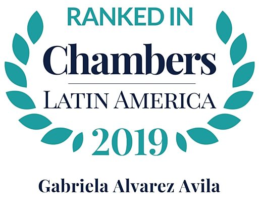 Chambers 2019 Latin America Rosette Gabriela Alvarez Avila