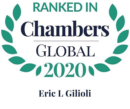 Chambers 2020 Global Rosette Eric Gilioli