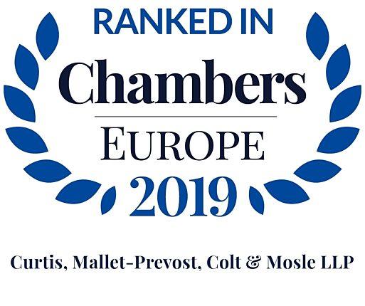Chambers Europe 2019 Firm Logo