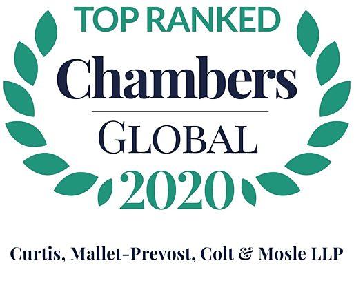 Chambers Global 2020 Firm Logo