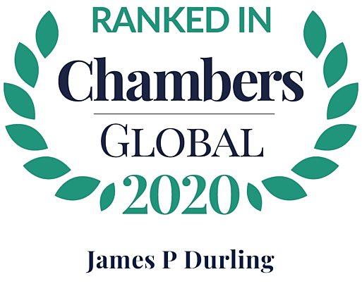 Chambers Global 2020 james durling