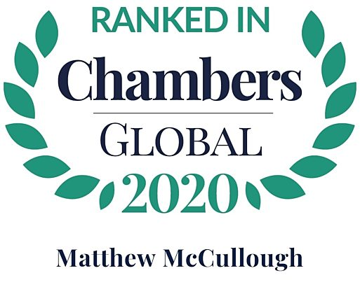 Chambers Global 2020 matthew mccullough
