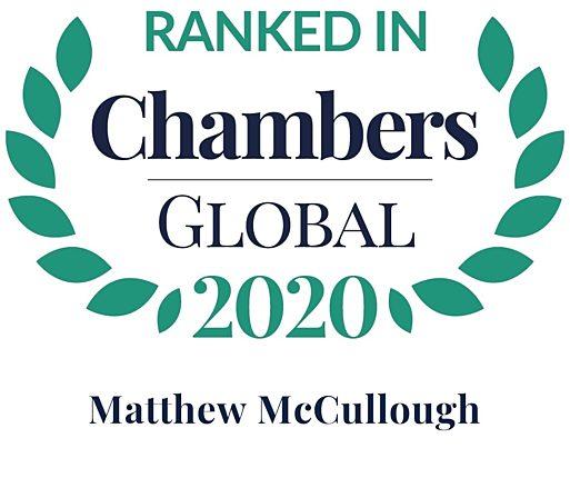 Chambers Global 2020 matthew mccullough