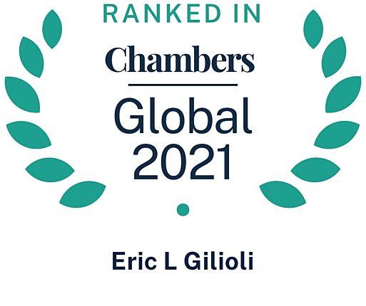 Chambers Global 2021 Eric Gilioli