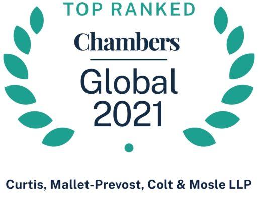 Chambers Global 2021 Firm Wide