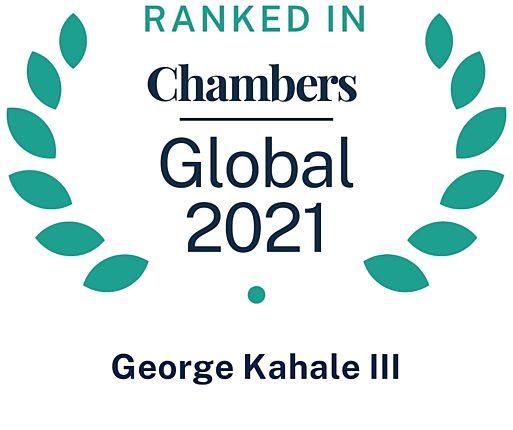 Chambers Global 2021 George Kahale III