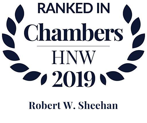 Chambers HNW Robert Sheehan