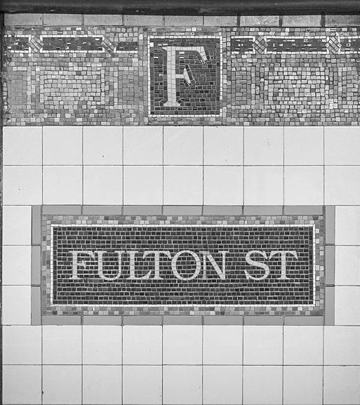 Fulton Street BW Resized