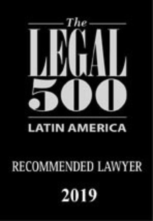 Legal 500 recommended lawyer la 2019