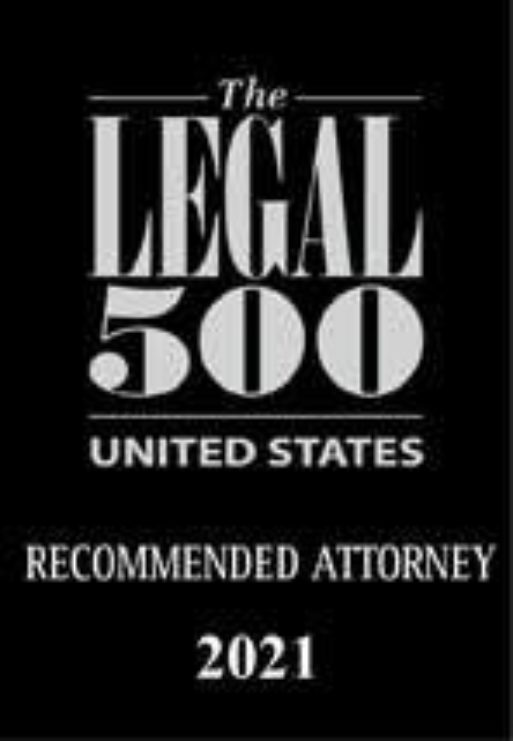 Legal 500 USA 2021 Recommended Attorney