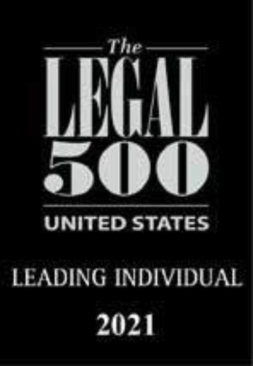 Legal 500 USA Leading Lawyer 2021