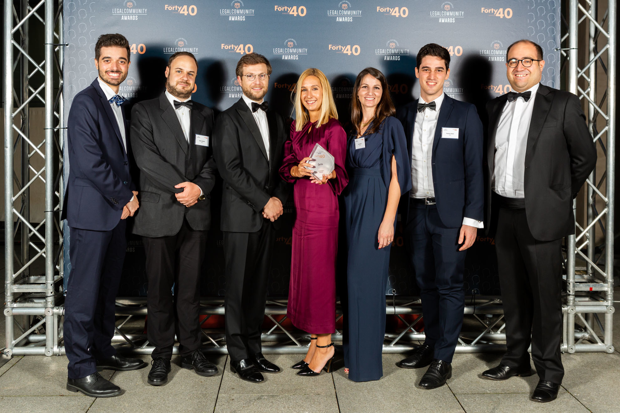 Curtis wins Arbitration Team of the Year at Legal Community Awards 2020